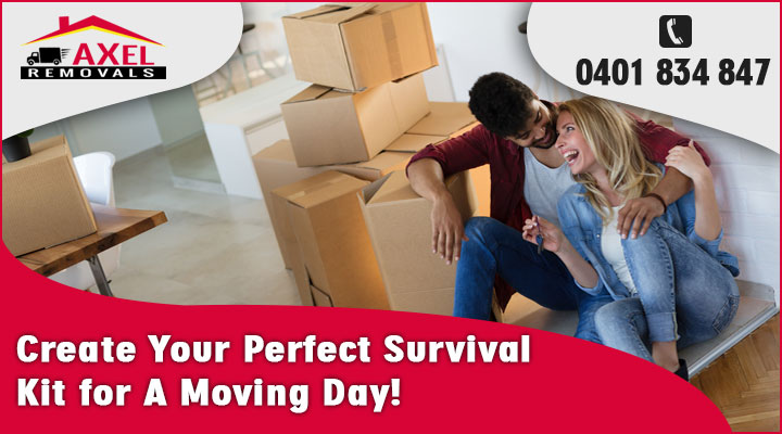 Create Your Perfect Survival Kit for A Moving Day!
