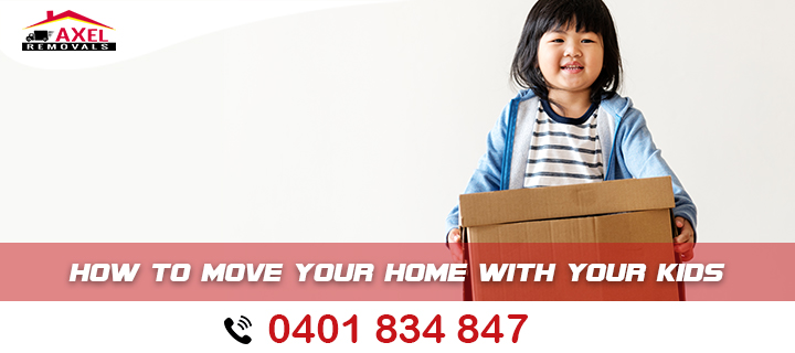 How to Move your Home With Your Kids