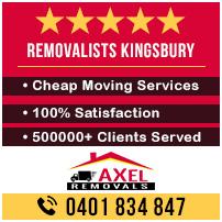 Removalists Kingsbury