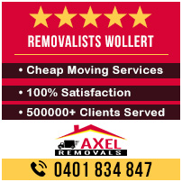 Removalists Wollert