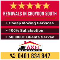 Removals Croydon South