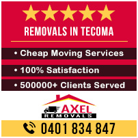 Removals Tecoma